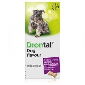 Drontal Hond   Dog Tasty 6 tabl.