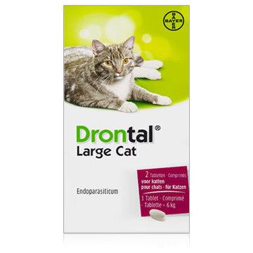 Drontal Grote Kat   Large Cat 2 tabl.