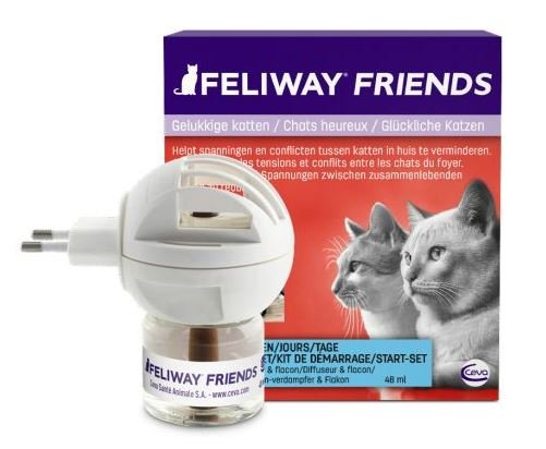 Feliway Friends Startset verdamper+flacon