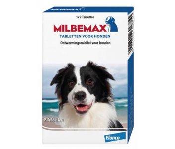 Milbemax grote hond 2 tabl