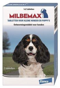 Milbemax kleine hond 2 tabl