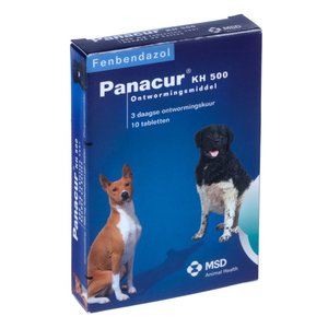 Panacur KH 500 mg 10 tablet (>10kg)