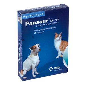 Panacur KH 250 mg 10 tablet (2,5 - 10kg)