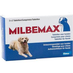MILBEMAX grote hond 4 tablet 12,5/125mg  (5-50kg)