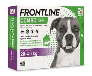 Frontline L combo dog spot-on 6x2,68 ml